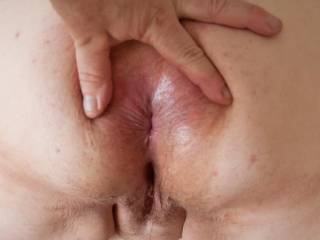 Love to tongue fuck her arse hole make it all wet and juicy then stretch it wide with my thick cock , hmm that would be nice. thanks 4 sharing.