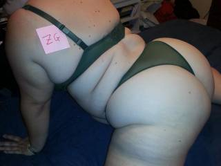 Wife showing off lingerie she hasn't worn in a long time. Man she looks hot. This was before I fucked her good.