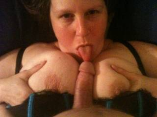 I would shoot my load as soon as her tongue touched my cock, covering her gorgeous face with spunk