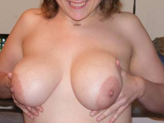 Just my viewing pleasure???  I'd like to kiss, suck and nibble on those beauties until those nipples are long and hard....