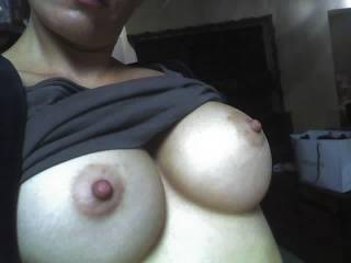 hard nipples..ready to be sucked