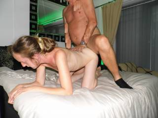 She watches guy cock