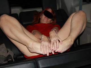 There are for all of you with a foot fetish. Who wants to suck my toes, while I finger my wet pussy for you?