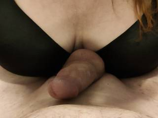 What a lovely cock for my tits!! Watch my video for my treatment of this thick cock.