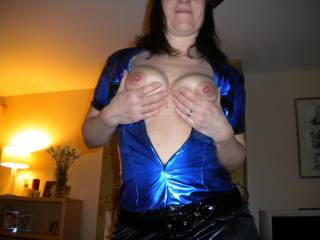 i have got my truncheon in my hand