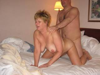 Wife getting it doggystyle in hotel