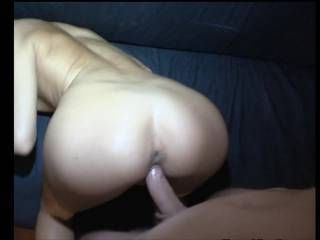 WOW! She is SO lucky she gets that amazing cock and that explosive cum spray! :) I'm so jealous, pretending it's me in the video now :) WOW! ~Sarah