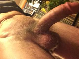 Looking at your cock mine is very stiff  And thinking of you shooting your nice creamy spunk