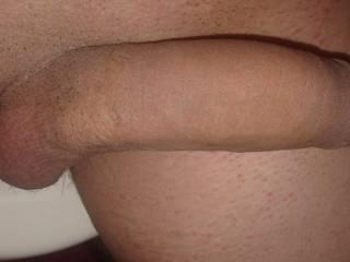 my semi-softie dick :p