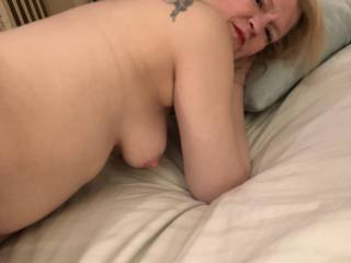 Just after getting fucked from behind by my BBC buddy.  I got a good pounding.  Do you guys like to pound your mate?