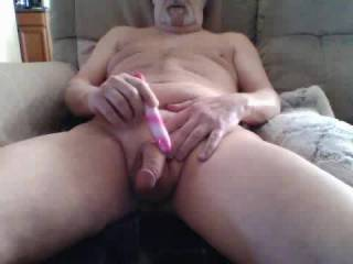 Another intense orgasm using the vibrator.