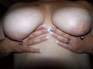 new nipple jewerly i love them