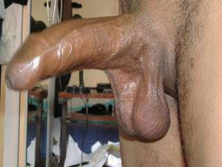 Wow, your uncut cock is so, so beautiful man...I like it a lot..your balls are wonderful.