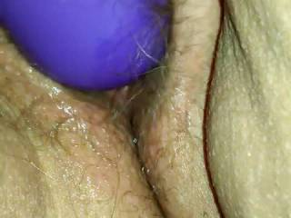 Wife getting worked up a bit playing before fucking
