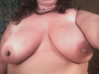 Ooohhh Yes there is nothing more exhilerating than making it hurt sooooooooooooo good!  ...well almost nothing!  Wanna find out..?  Love those gorgeous luscious naturals and magnificent perfect big nipples, perfect for hours of stimulation beyond your wildest dreams...