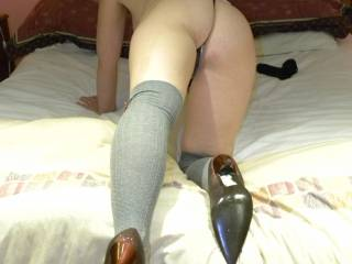 damn hot...can`t wait to catch and fuck you from behind....