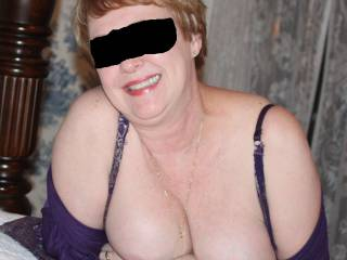 she has my cock hard - she can wrap those around my cock anytime