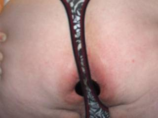 Thong will hold it in !!!