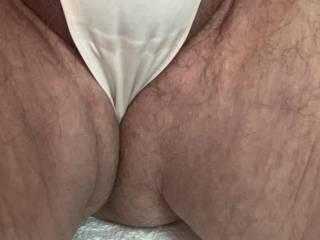 Slide in between my thighs and feel my sexy girlie thong panties
