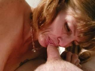 Christy loves to suck dick