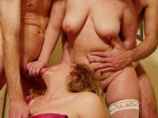 A recent foursome with our sexy friends!!!