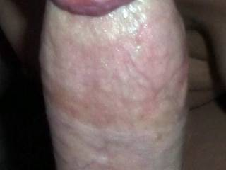 Sucking cock is one of my favorites! You wouldn\'t BELIEVE how good I am at it. ;)