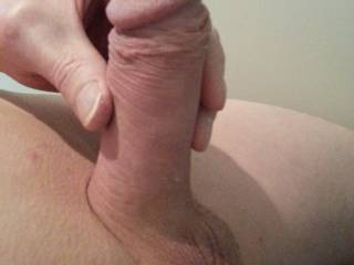 beautiful cock---You must be very proud!!! I would love to suck it and kiss your balls--Nice package