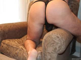 Sexy undies ass shot