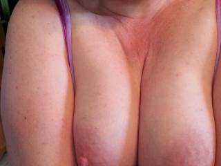 Full breasts just seem to have a habit of popping out of my top... whatever should I do?