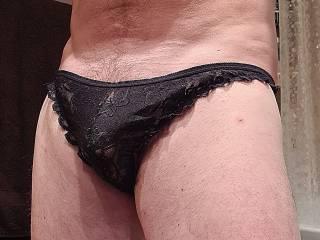 Favourite black panties, so comfy