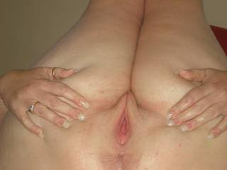 ooooh jeeze..I'd start with that tight looking pussy and then fill that even tighter ass for you!