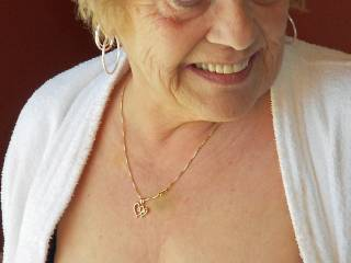 Sweetie them tits look as good as any 30 yr old tits beautiful titts I no I would suck an dlick and kiss on them beautiful all day beautiful