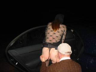 I've Always Wanted to go out in a Car with some Men DOGGING!! mmm. All of that Attention, Cock ... Men ... Fingers ... Tongues ... Cum!! m-mm-mmm-mmm. Who will take me though?!?!?  Lucy♥ -x-