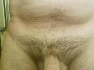 Nice thick cock and huge mushroom head.