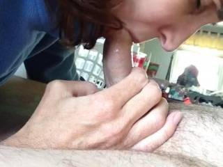 I want her sexy mouth on my cock and feel how she sucks before I get her on all 4's to deep fuck her pussy. Leave a nice load in her pussy and have her clean my cock off with her mouth.