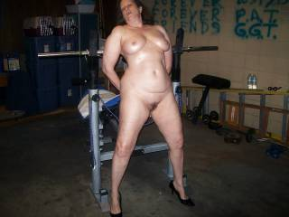 wife tied up in garage