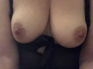 Hard Nipples need sprayed with jizz