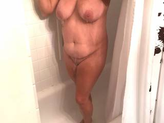 my downriver fuck toy...anyone wanna join her in the shower...