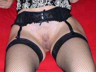 Let me spread your legs and slide my cock into your pussy...You know I will cum deep in you.