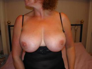 Now thats what I call a pair of tits ! Would look even better with my dick between them !!!