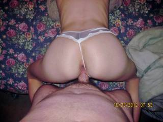 my sexy wife rachels sweet ass while im pounding her tight wet pussy