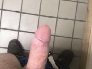 I love when he surprises me with a picture of his thick hard cock! Would any ladies want to help me service it?