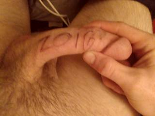 Bored writing on my dick, message me ideas of what else I should post pictures/videos