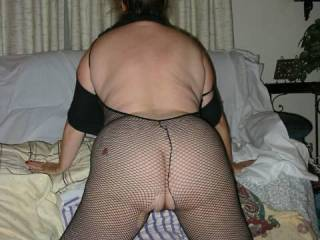 I love women in fishnets.   Does anyone else ?