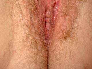 lovely pic of an erect clit wanting to be pleasured
