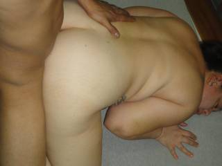 rocking that ass nicely dude., love the face down ass up look. very hot