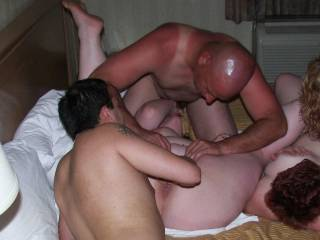 mmmmmmmm-there you go guys take care of that horny pussy!!!!!!!!