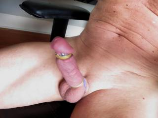 With a cock like that, I would help you out.  Yummy.