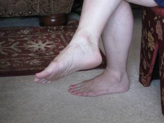 wifes feet for foot lovers