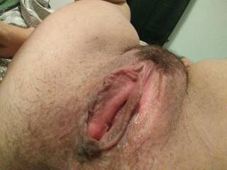 Hungry for cock. Really hungry